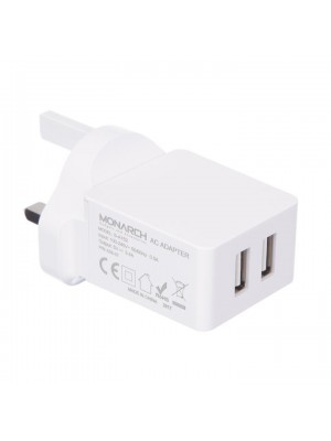 UK Dual USB Home Charger -3.4 A