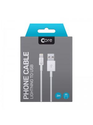 Core Lightning to USB Cable 3M