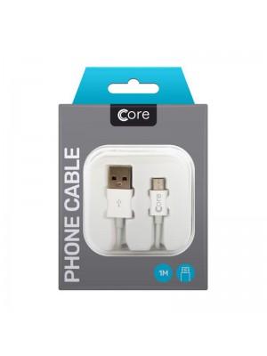 Core Micro USB Cable in Case 1M