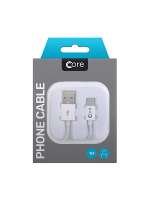 Core USB Type-C Cable in Case 1M