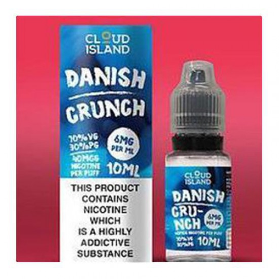 Cloud Island 10ml: Danish Crunch