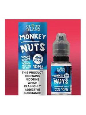 Cloud Island 10ml: Monkey Nuts
