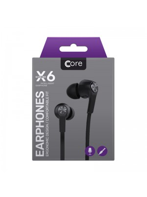 Core X6 Earphones