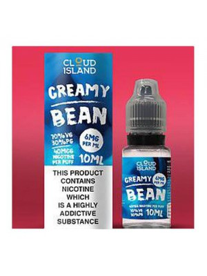 Cloud Island 10ml: Creamy Bean
